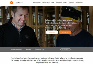 Maxim Business Software