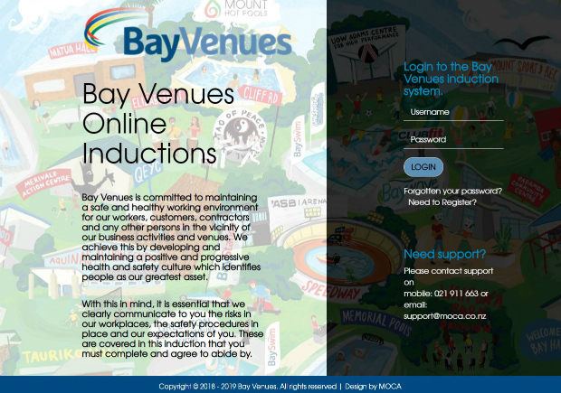 Bay Venues - Induction